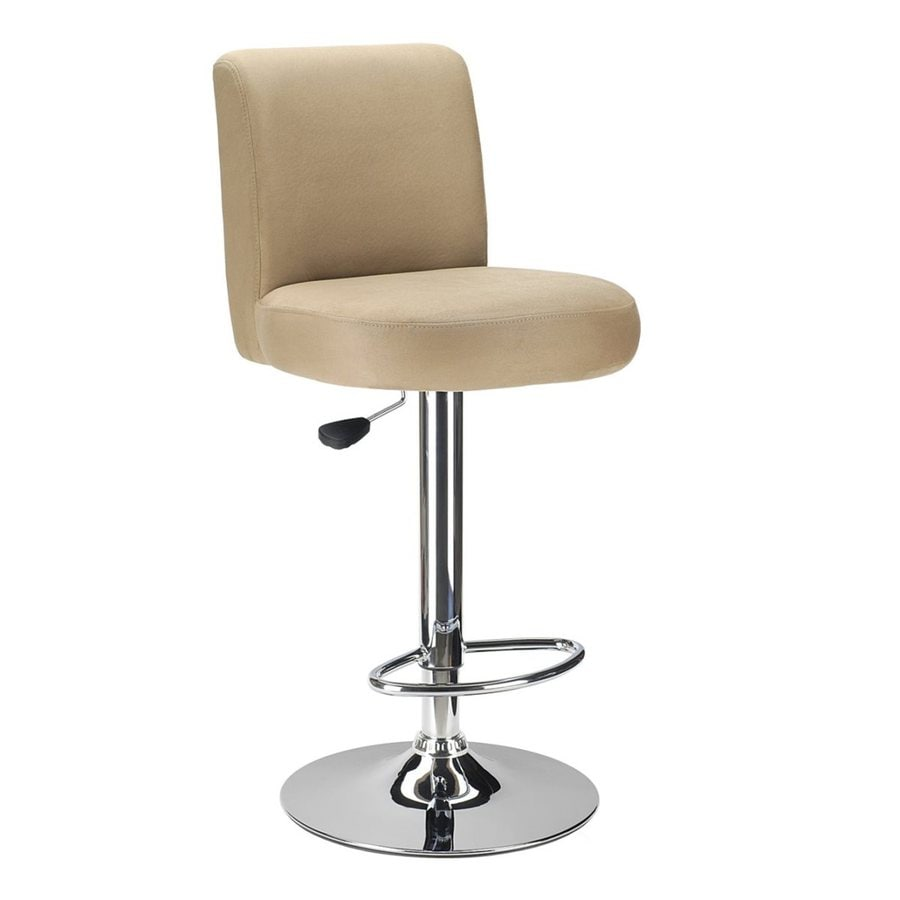 Winsome Wood Chrome 30.12-in Adjustable Stool