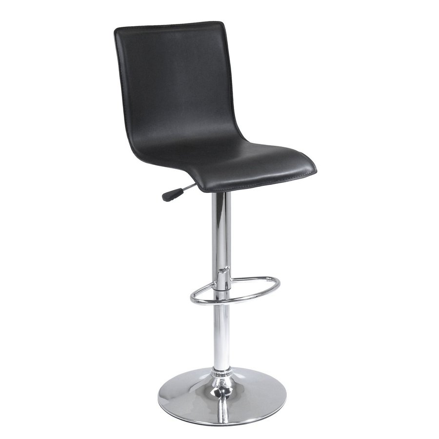 Winsome Wood Chrome 30.7-in Adjustable Stool