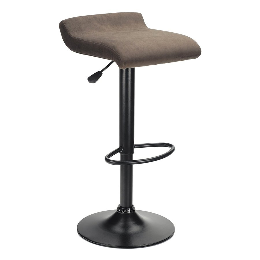Winsome Wood Black and Stain 29.84-in Adjustable Stool