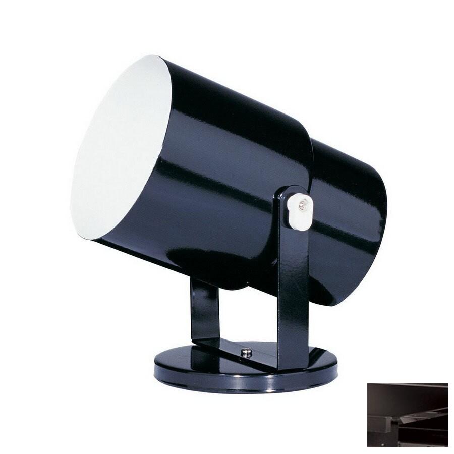 Dainolite Lighting Black Flush Mount Fixed Track Light Kit