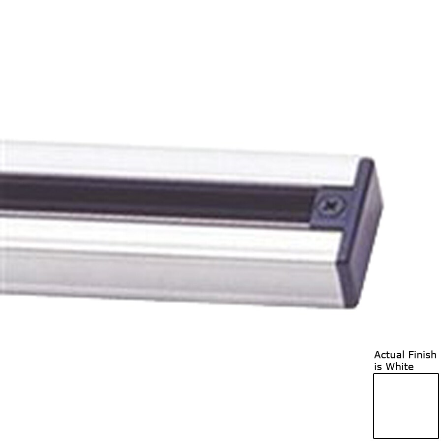 Cal Lighting White Linear Metal Track