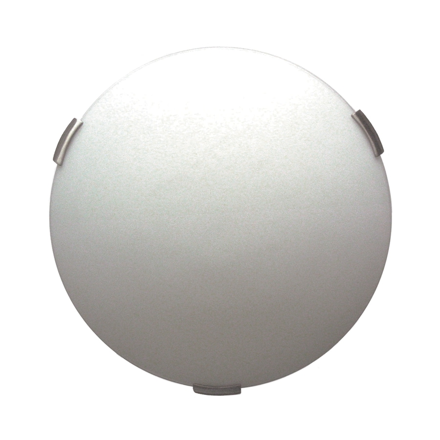 DVI Orinoco 16-in W Satin Nickel Ceiling Flush Mount Light
