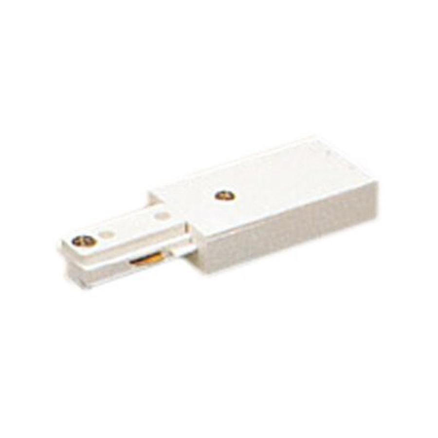 PLC Lighting White Linear Track Light Live End Power Feed