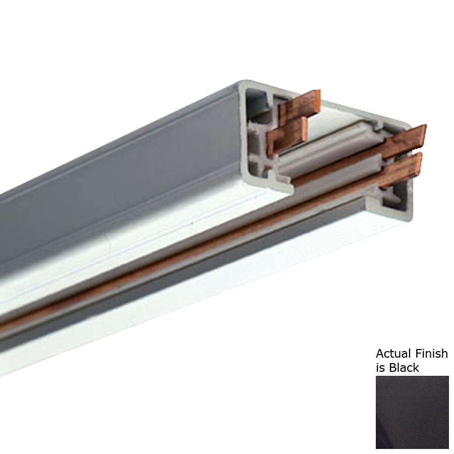 PLC Lighting Black Linear Track Light Track