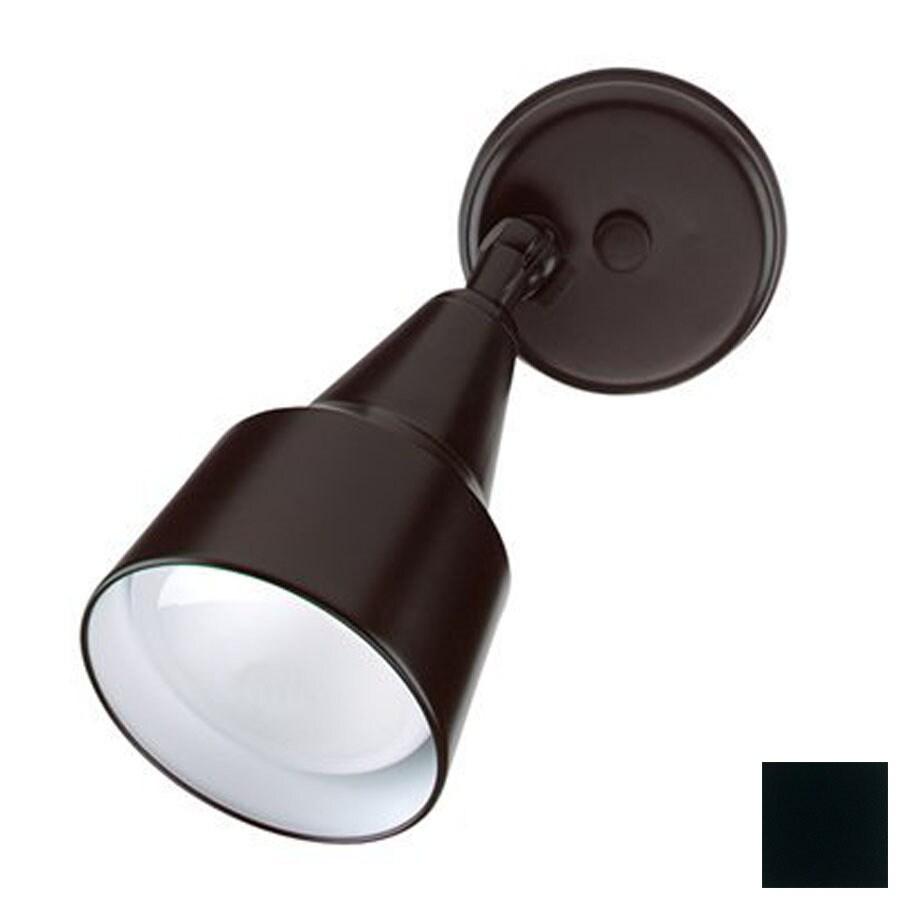 Nicor Lighting 9.5-in Black Flush Mount Fixed Track Light Kit