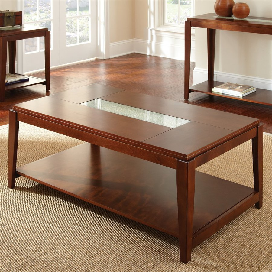 Steve Silver Company Ice Fruitwood Rectangular Coffee Table