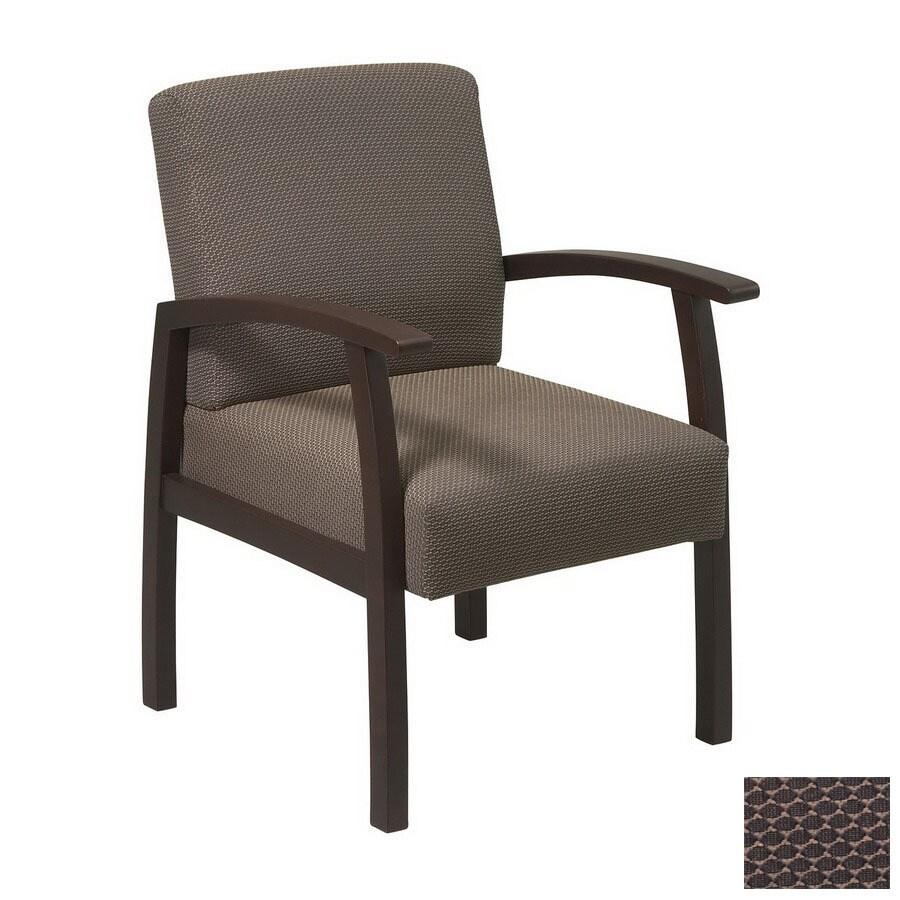 Office Star 1-Piece Worksmart Espresso Reception Chair