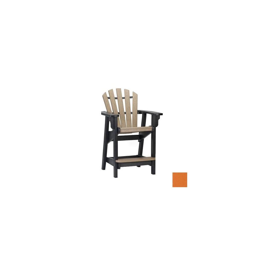 shop siesta furniture bistro orange peel plastic