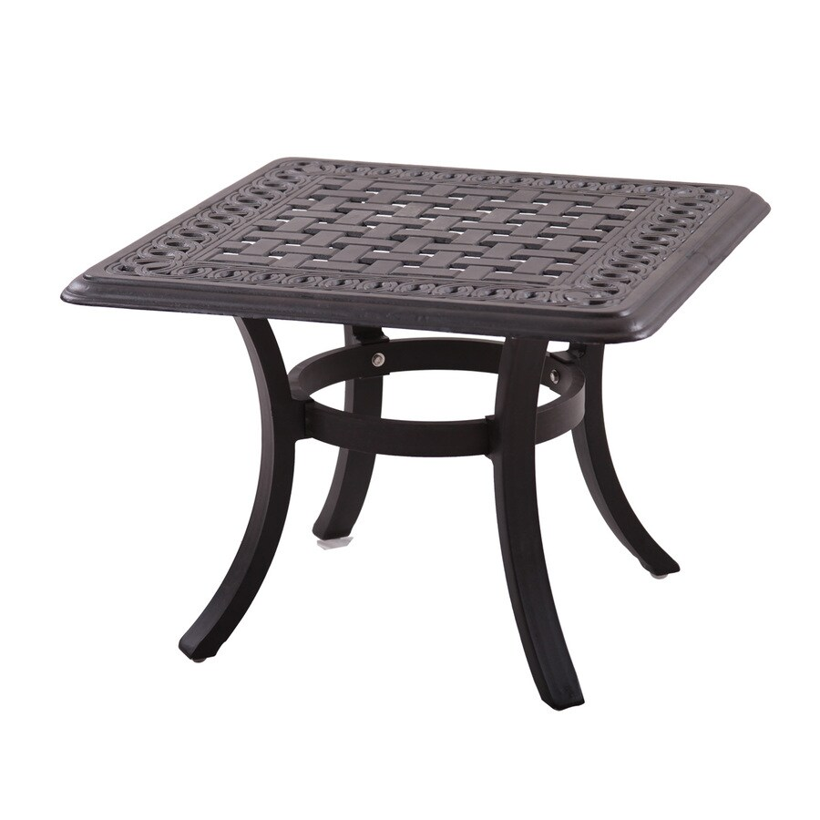 Darlee Series 88 24-in W x 24-in L Square Aluminum End Table