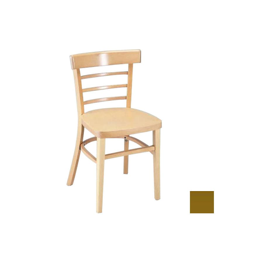 Alston Quality Industries Black Dining Chair