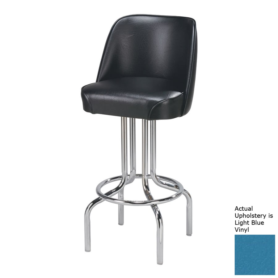 Regal Seating Steel Chrome 32-in Bar Stool