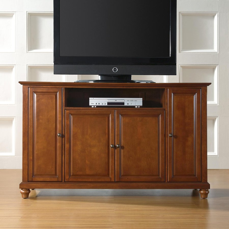 Crosley Furniture Cambridge Classic Cherry Rectangular Television Cabinet