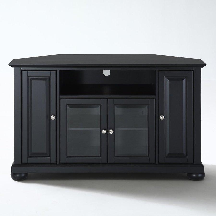 Shop Crosley Furniture Alexandria Black Corner Corner