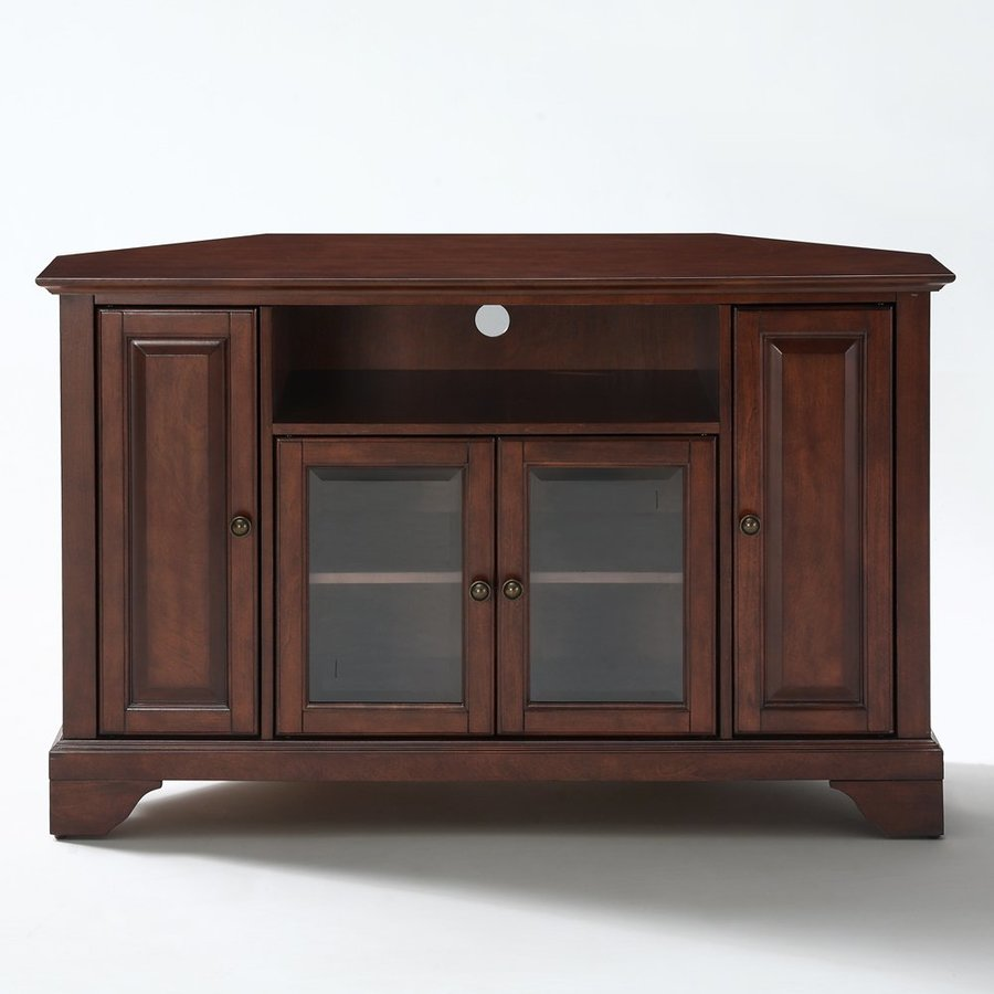 Shop Crosley Furniture Lafayette Vintage Mahogany Corner