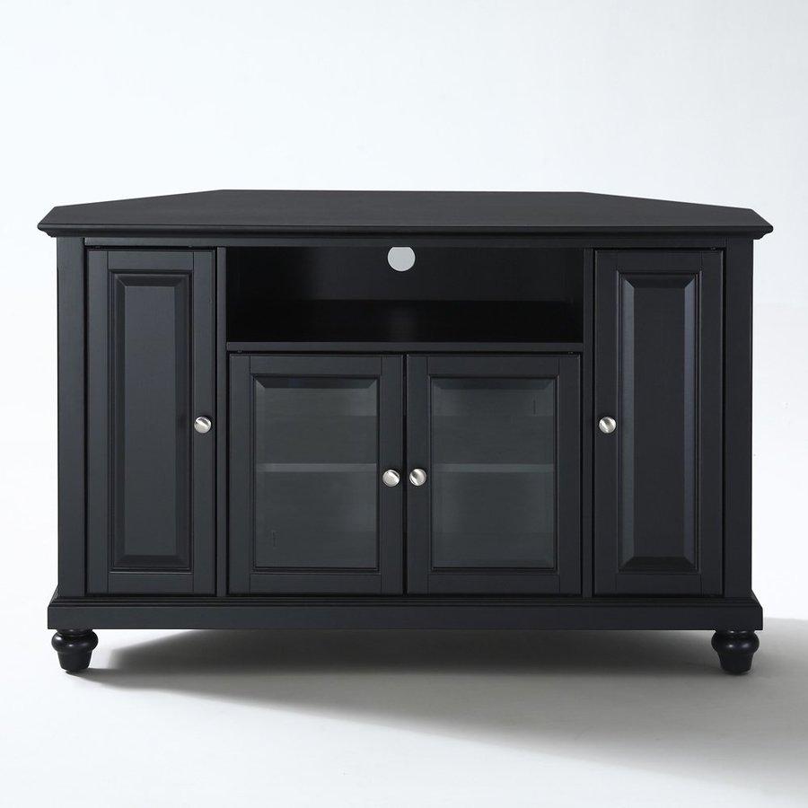 Shop Crosley Furniture Cambridge Black Corner Tv Stand