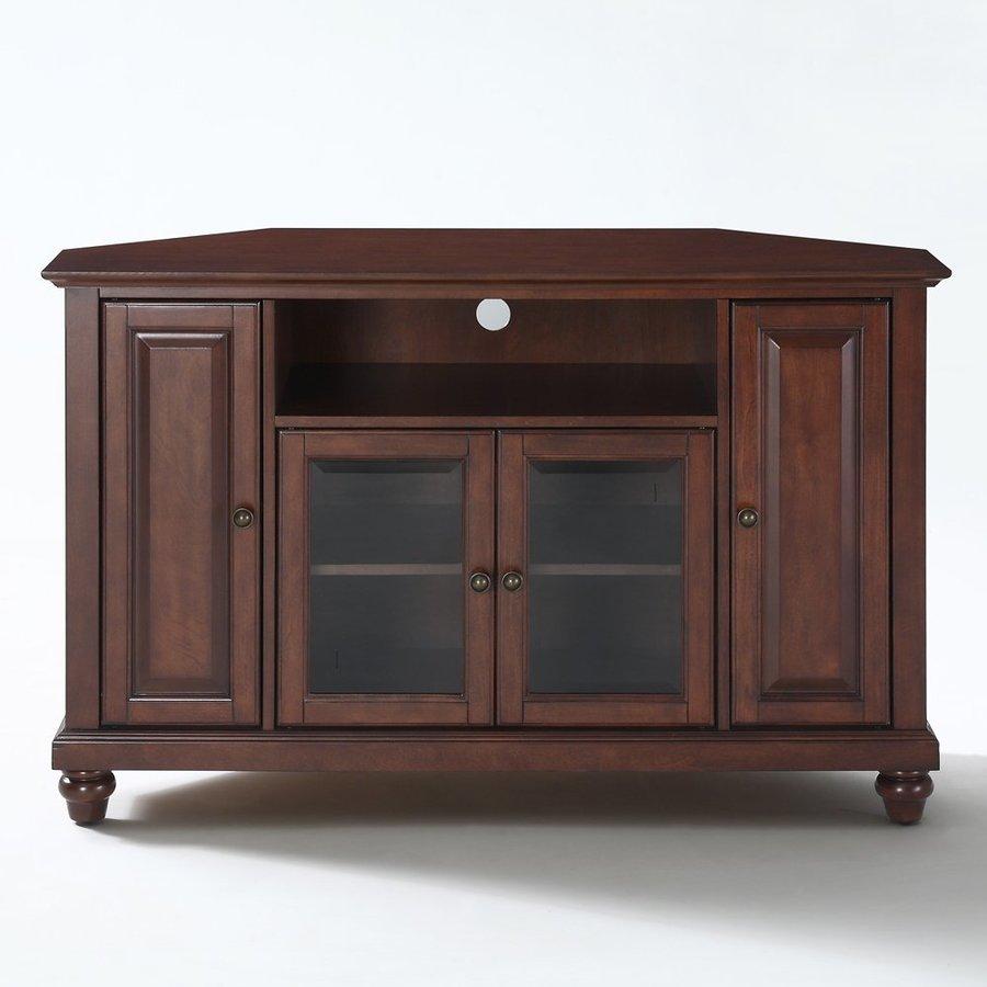 Shop Crosley Furniture Cambridge Vintage Mahogany Corner