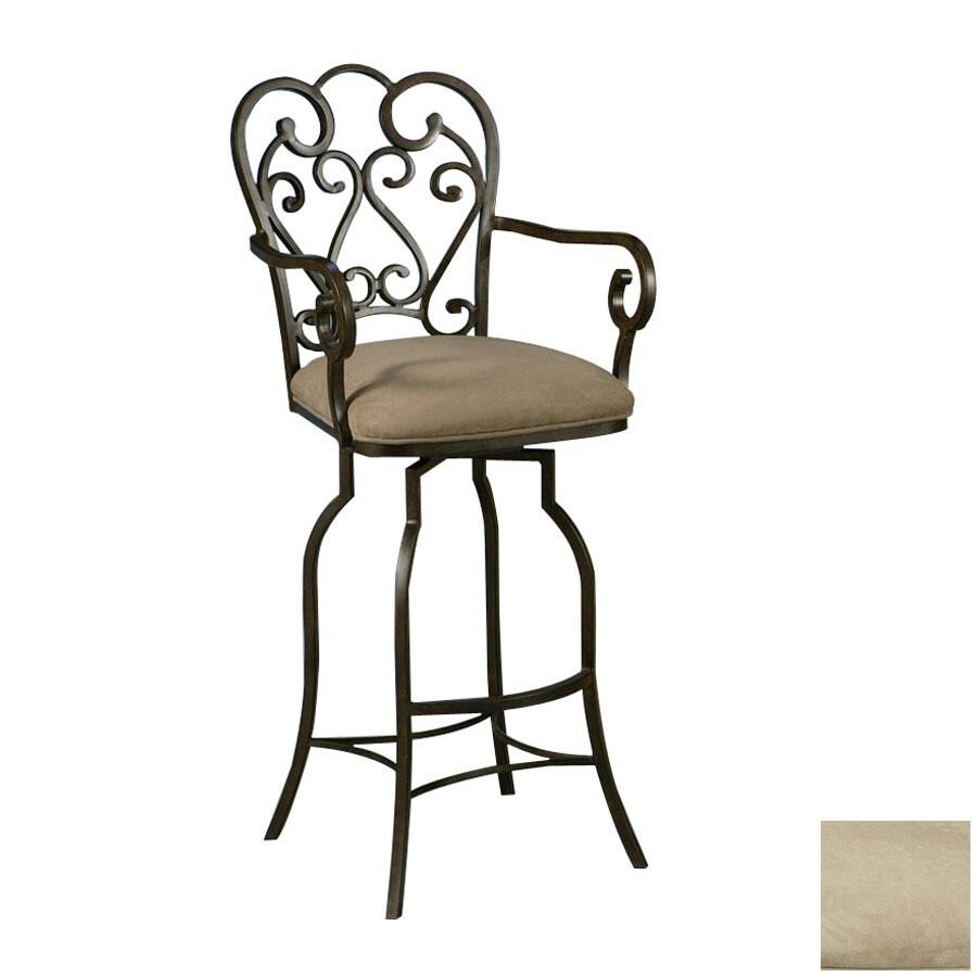 Shop Pastel Furniture Magnolia Autumn Rust 34 In Bar Stool