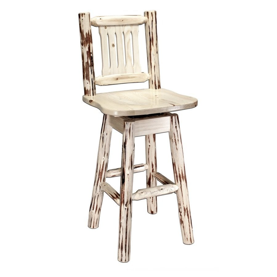 Shop Montana Woodworks Montana 30 in Unfinished Bar Stool  : 4306941 from www.lowes.com size 900 x 900 jpeg 56kB