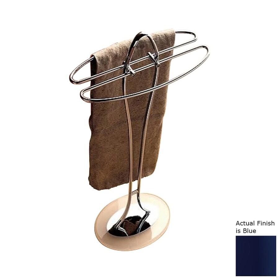 Nameeks Kor Blue Rack Towel Bar (Common: 14-in; Actual: 14.17-in)