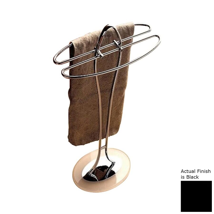 Nameeks Kor Black Rack Towel Bar (Common: 14-in; Actual: 14.17-in)