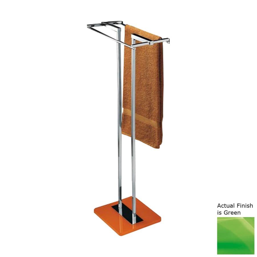 Nameeks Eden Green Rack Towel Bar (Common: 14-in; Actual: 14.17-in)