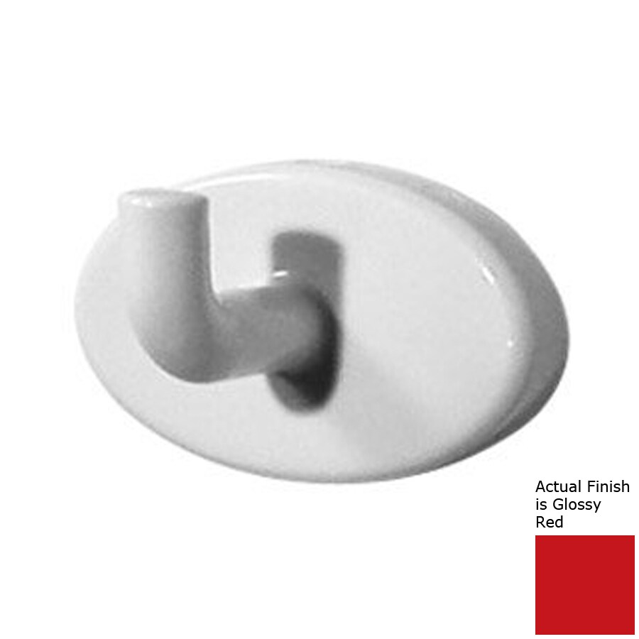 Ponte Giulio USA Accessories 1 Hook Glossy Red Robe Hook