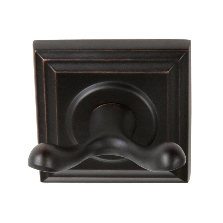 The Delaney Company 700 Series 2-Hook Tuscany Bronze Robe Hook