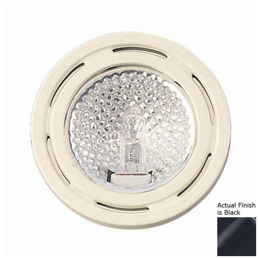 shop cal lighting hardwired under cabinet halogen puck light at. Black Bedroom Furniture Sets. Home Design Ideas