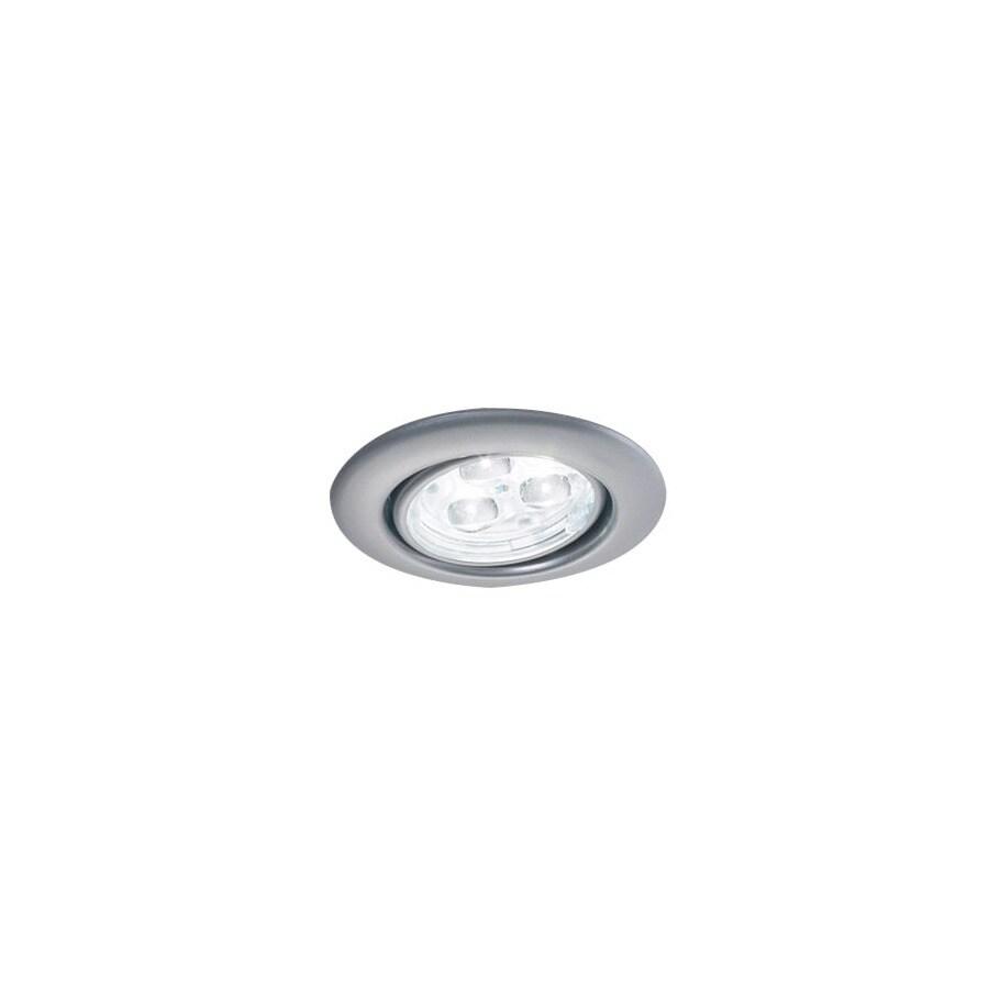 Bruck Lighting Systems Matte Chrome LED Recessed Light Kit