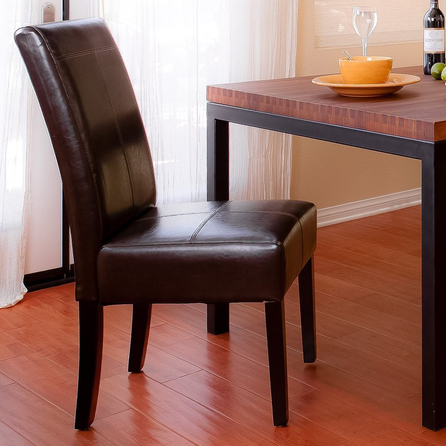 Best Selling Home Decor Pertica Chocolate Brown/Espresso Side Chair