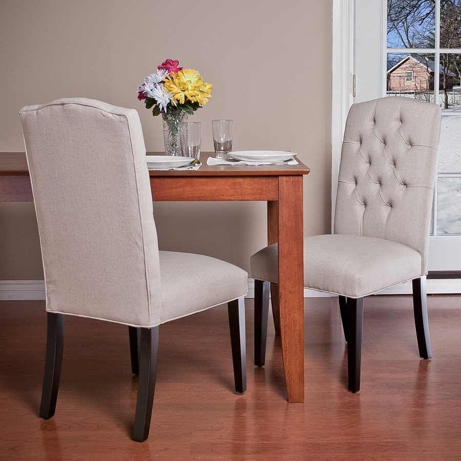 Best Selling Home Decor Set of 2 Crown Natural/Cherry Side Chairs
