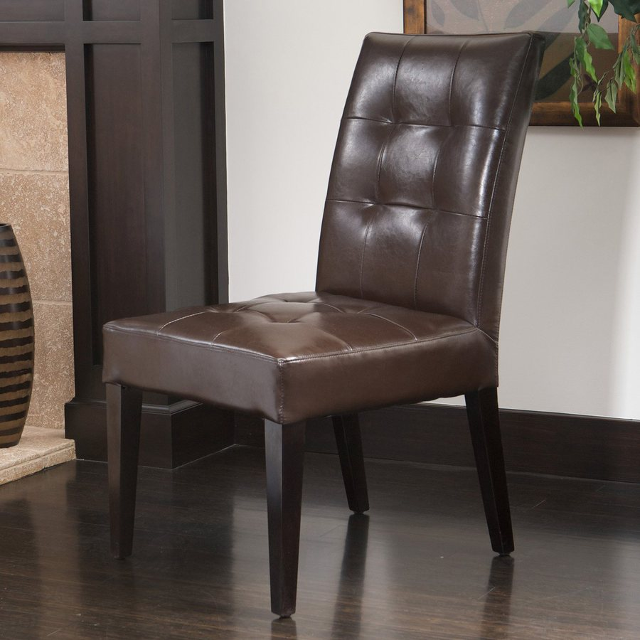 Best Selling Home Decor Bronson Brown/Espresso Side Chair