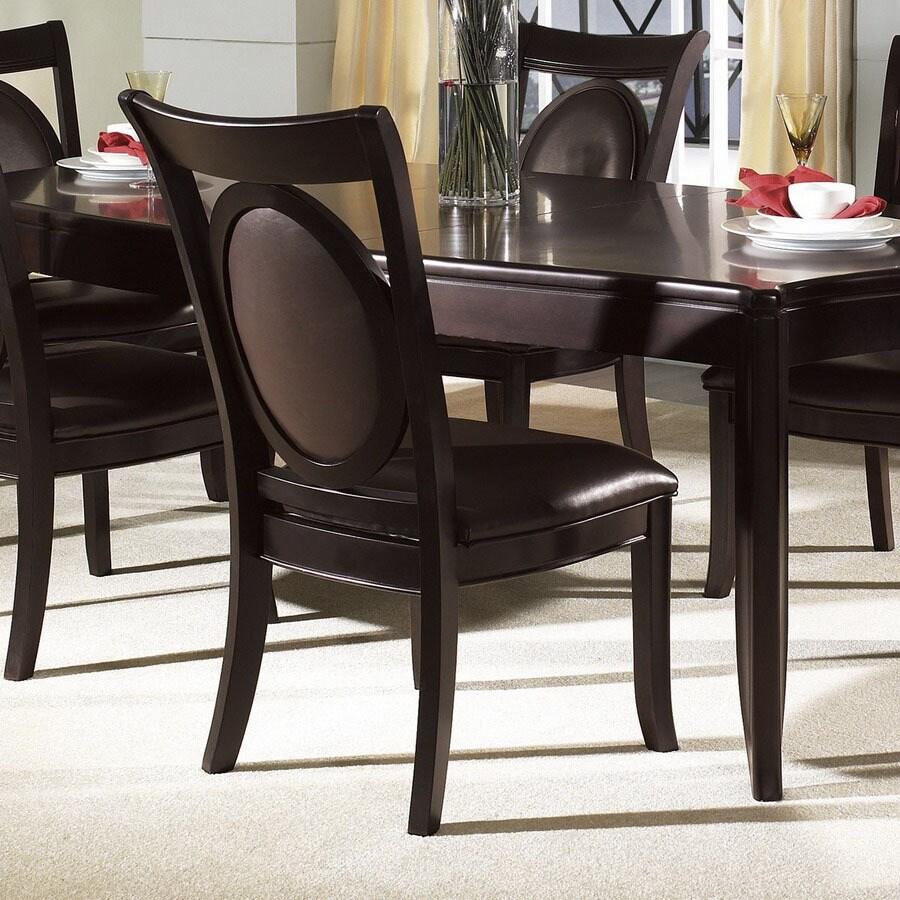 Somerton Home Furnishings Set of 2 Signature Dark Side Chairs