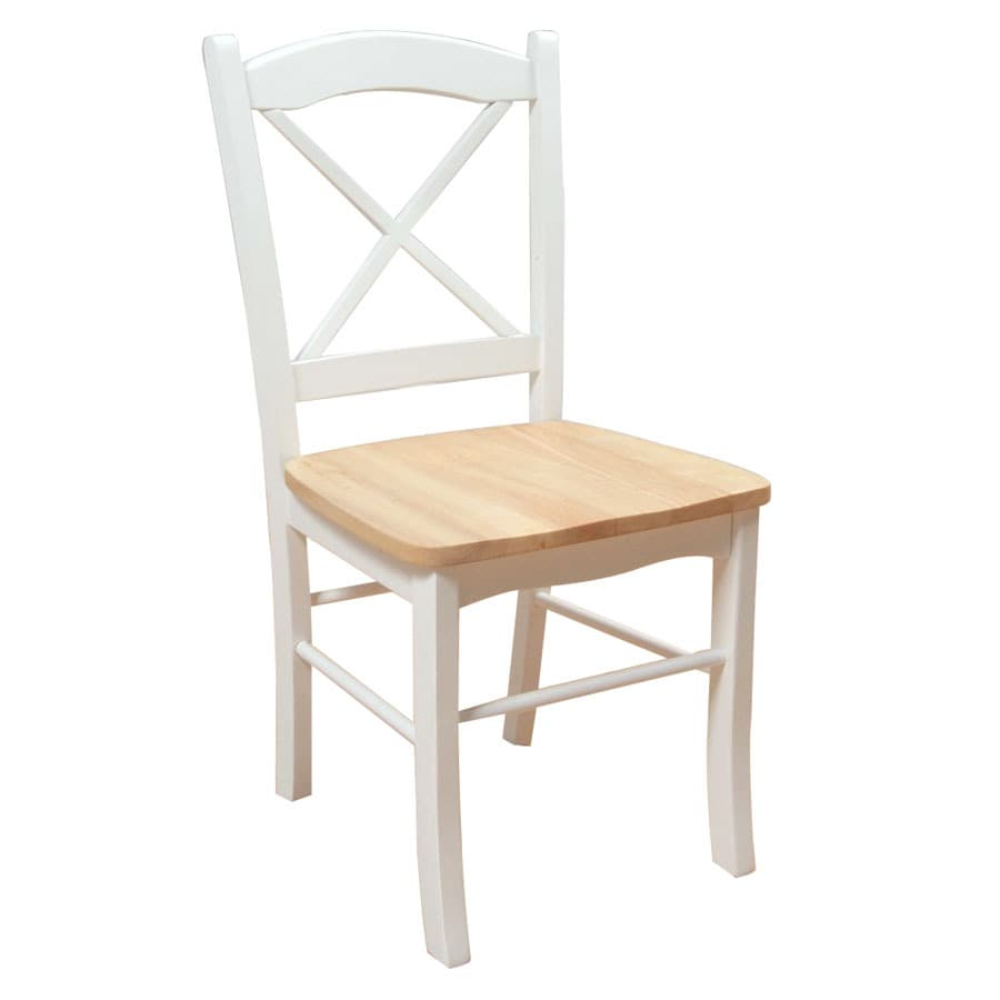 TMS Furniture Set of 2 Tiffany White Side Chairs