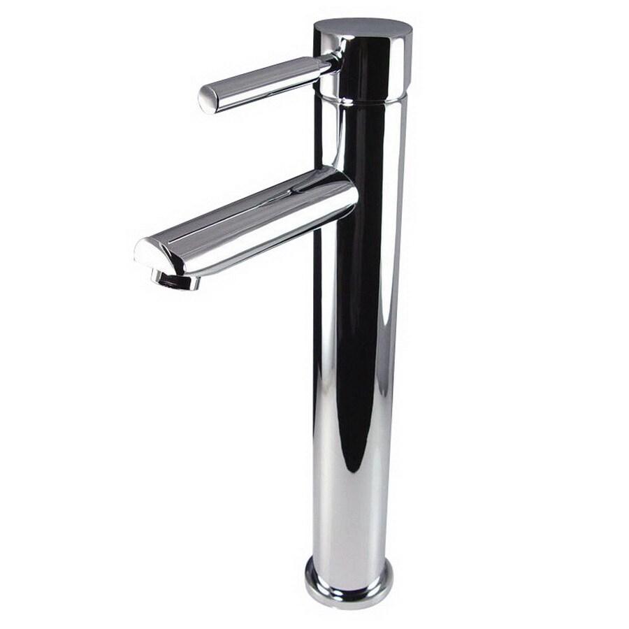 Fresca Tolerus Chrome 1-Handle Single Hole Bathroom Faucet