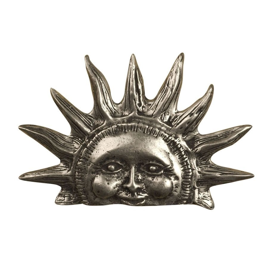 Anne at Home Celestial and Cherubs Matte Pewter Novelty Cabinet Knob