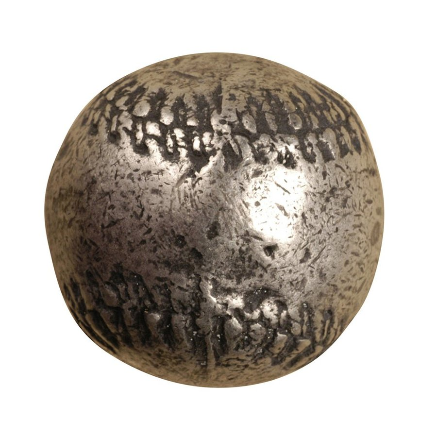 Anne at Home Music Initials Sports Matte Pewter Novelty Cabinet Knob