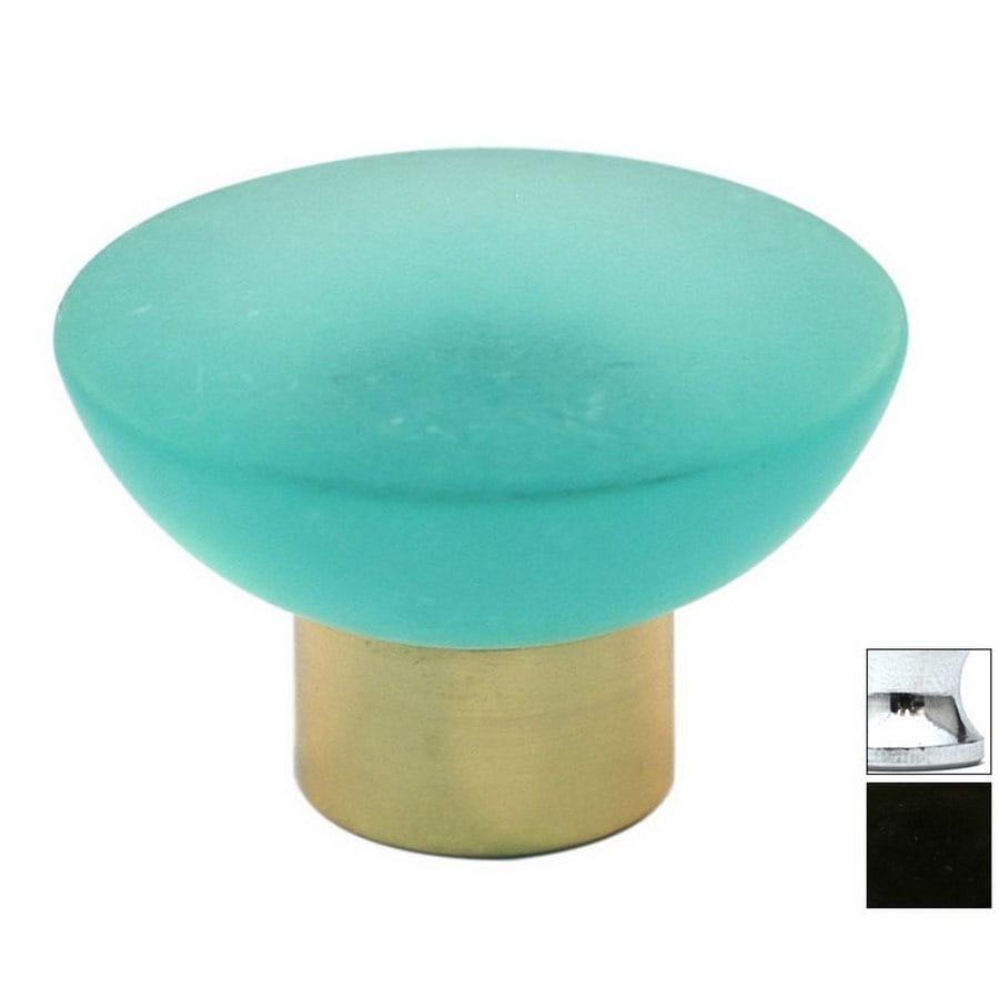 Cal Crystal Polished Chrome Athens Round Cabinet Knob