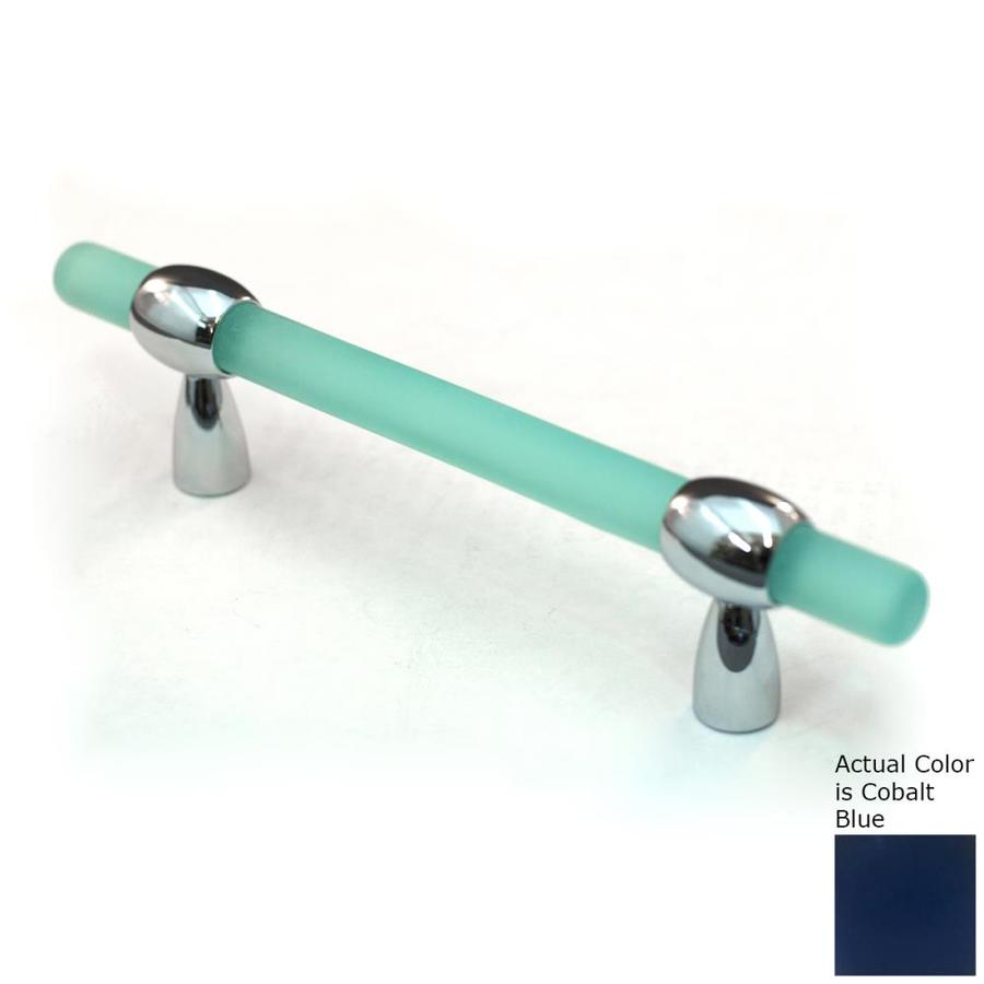 Cal Crystal 3-4-in Adjustable Center-to-Center Polished Chrome Athens Bar Cabinet Pull