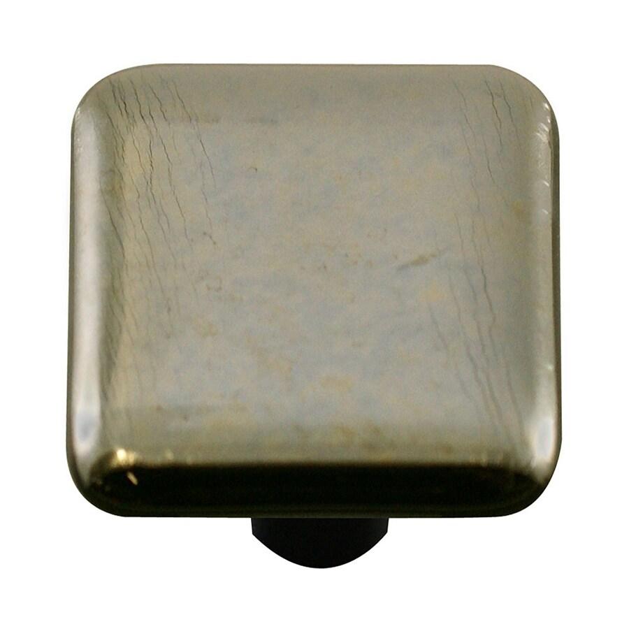 Hot Knobs Metallic Aluminum Square Cabinet Knob