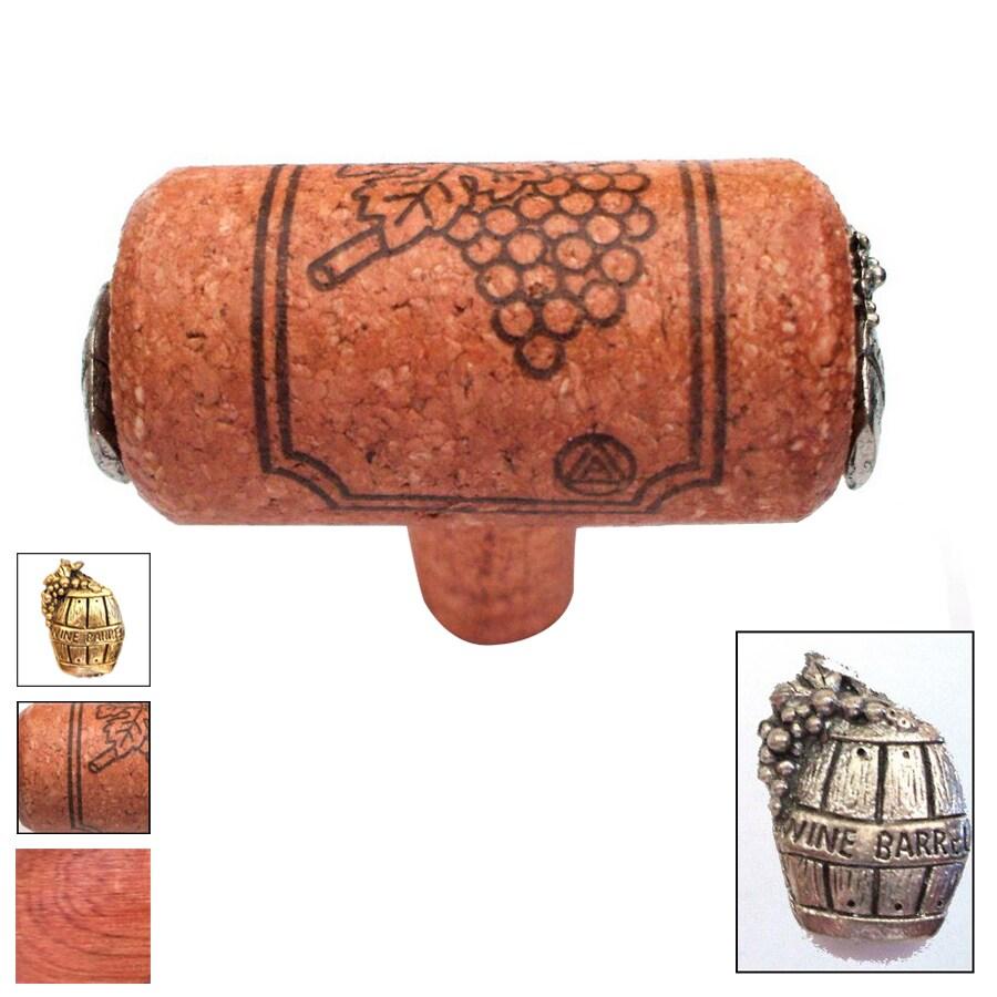Vine Designs 2-1/8-in Cherry Vineyard Novelty Cabinet Knob