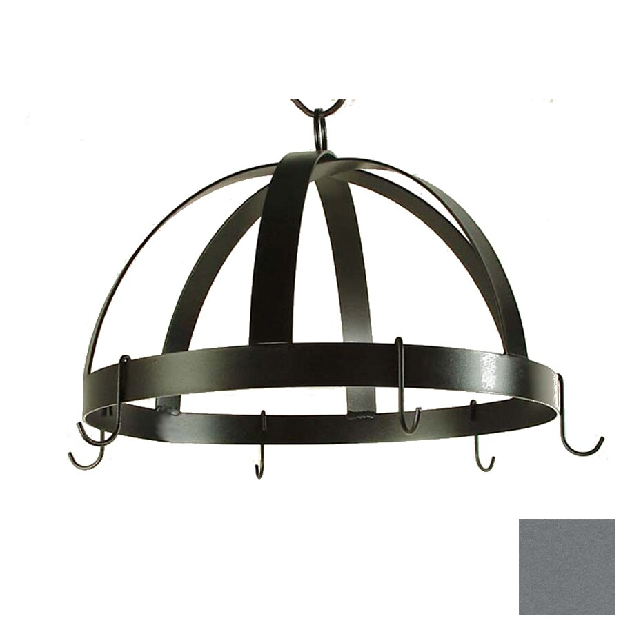 Grace Collection 20-in x 20-in Gun Metal Dome Pot Rack