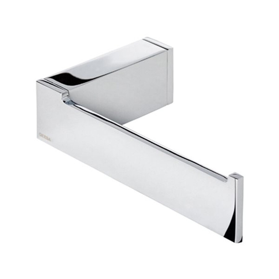 Nameeks Modern Art Chrome Surface Mount Toilet Paper Holder