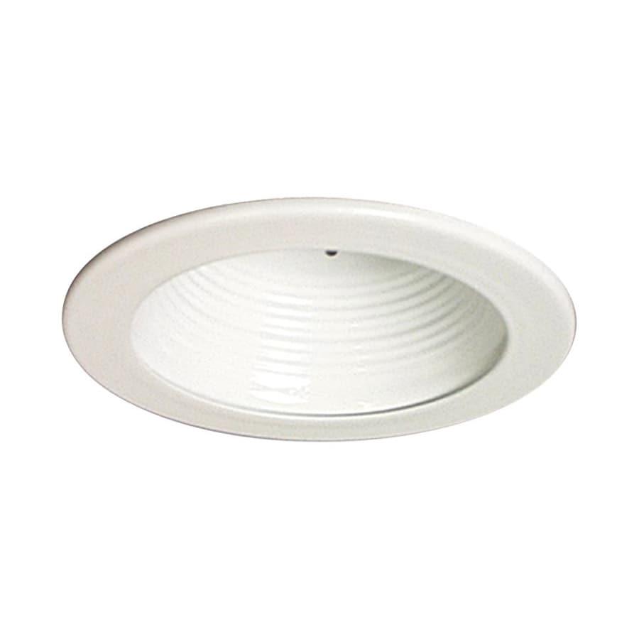 Galaxy White Baffle Recessed Light Trim (Fits Housing Diameter: 4-in)