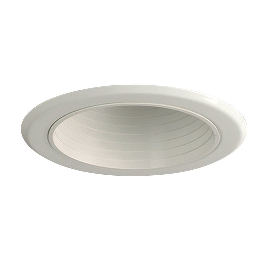 Galaxy White Baffle Recessed Light Trim (Fits Housing Diameter: 5-in)