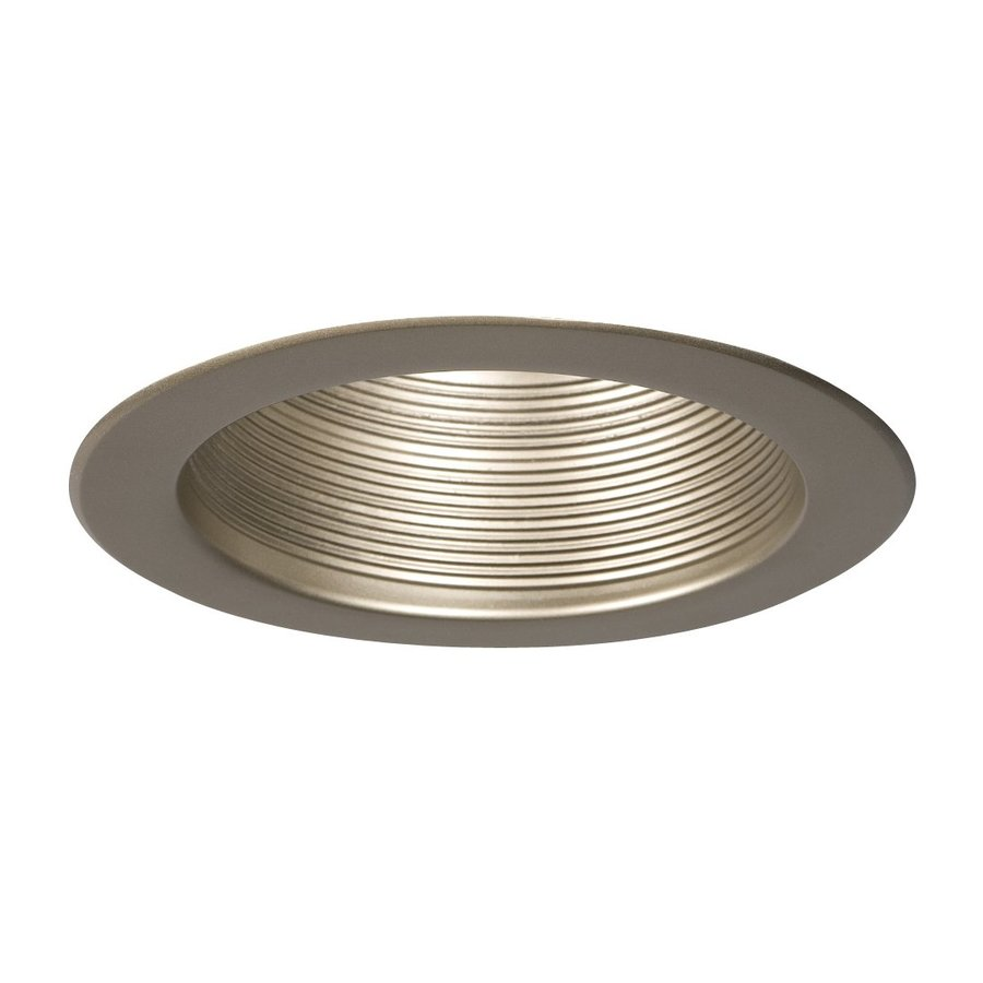 Galaxy Pewter Baffle Recessed Light Trim (Fits Housing Diameter: 6-in)
