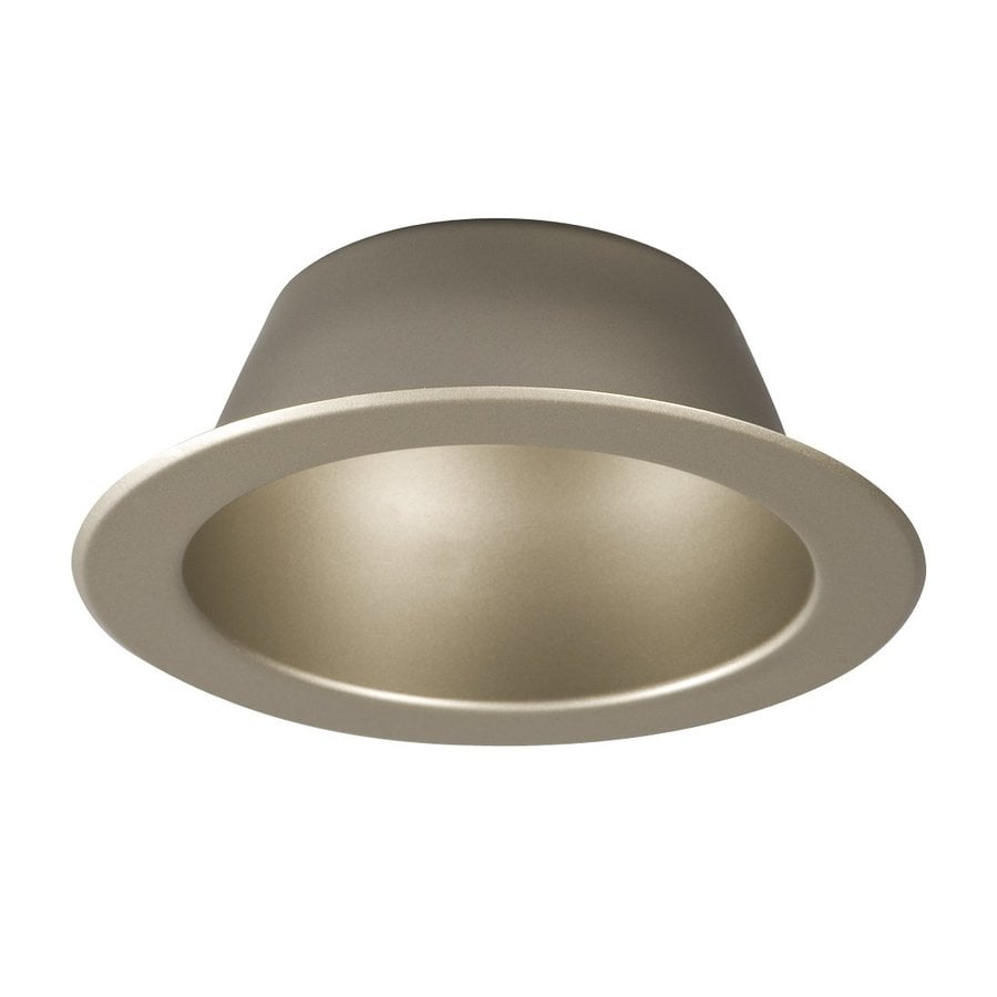 Shop Galaxy Pewter Open Recessed Light Trim Fits Housing Diameter 6 In At