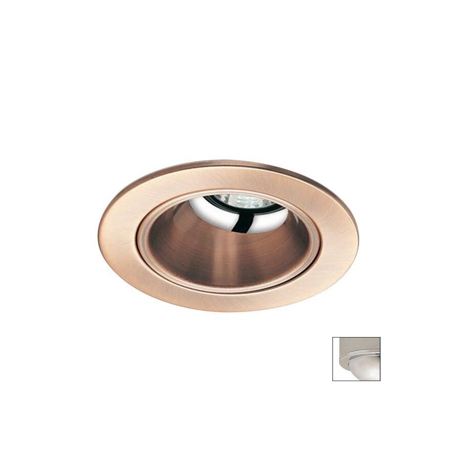 Nora Lighting Chrome Open Recessed Light Trim (Fits Housing Diameter: 4-in)