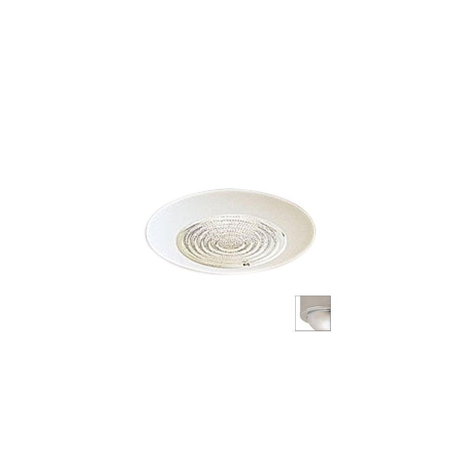 Nora Lighting Chrome Shower Recessed Light Trim (Fits Housing Diameter: 6-in)