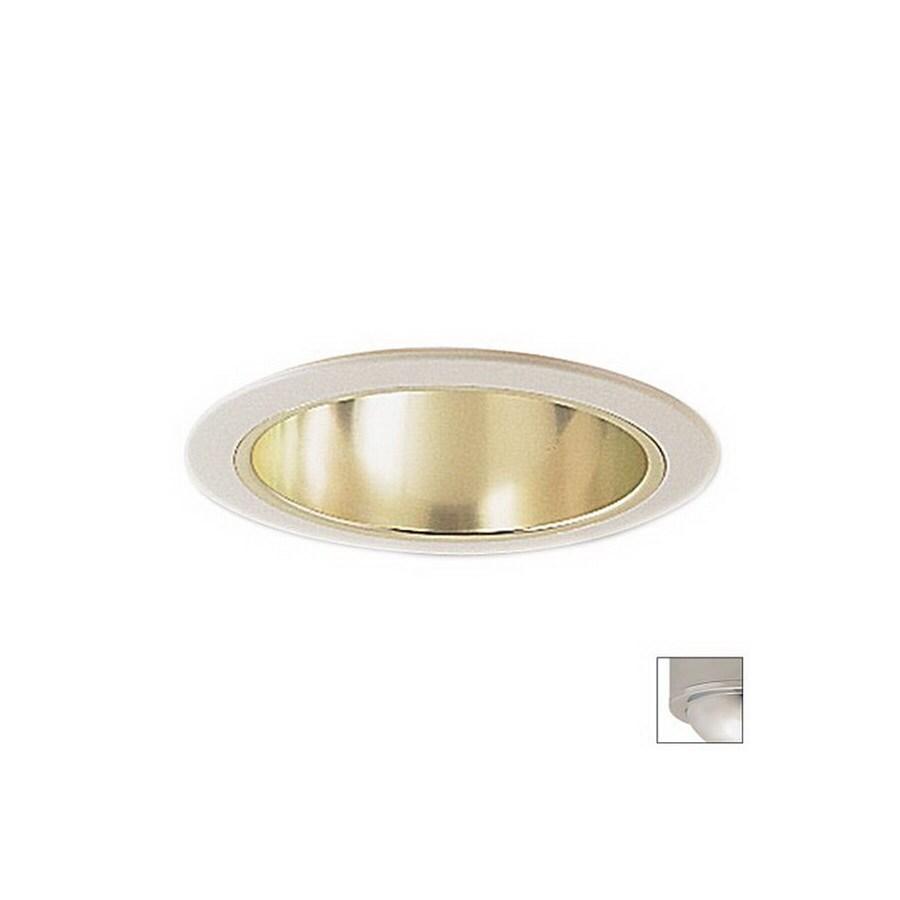 Nora Lighting 6-in Chrome Open Recessed Lighting Trim